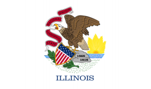 Illinois-Flag
