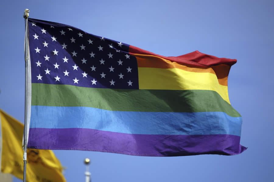 Gay American Flag 82